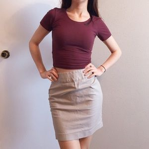 Banana Republic pencil skirt.